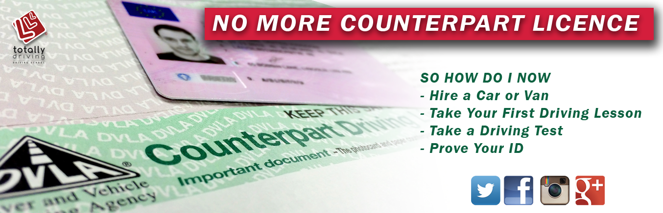 Banner for No Counterpart and how to hire a car with No Counterpart licence page