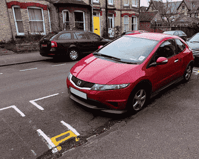 Double Yellow Parking