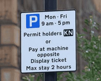 Perment Holder Parking