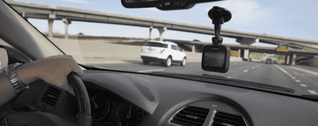 photo of dash cam saving money on new driver insuance