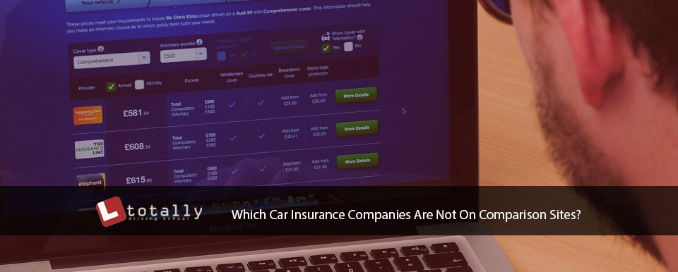 Which Car Insurance Companies Are Not On Comparison Sites