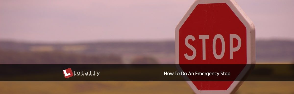 How To Do An Emergency Stop