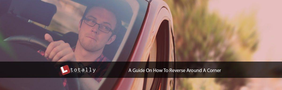 how to reverse around a corner