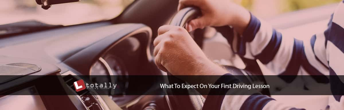 What To Expect On Your First Driving Lesson