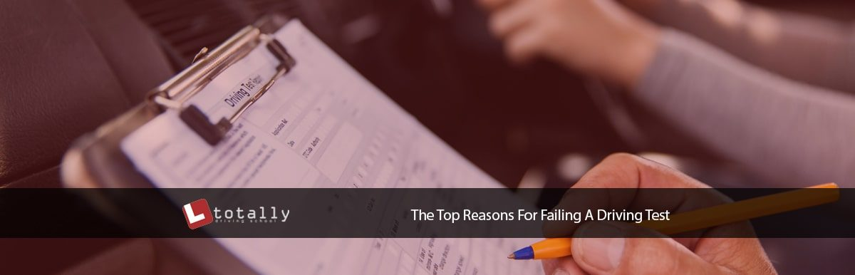 Top Reasons For Failing A Driving Test