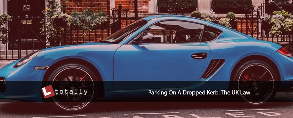 parking on dropped kerb law uk