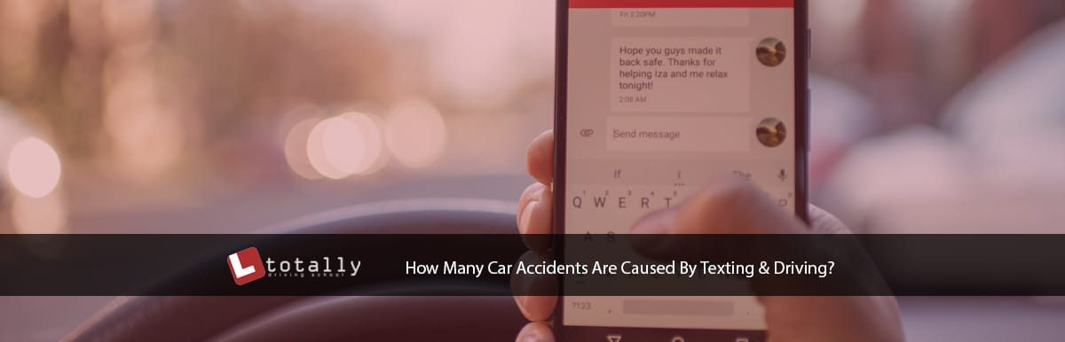 How Many Car Accidents Are Caused By Texting And Driving?